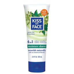 Crème de rasage corps vegan & naturelle Thé vert Bambou - Kiss My Face