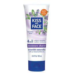 Crème de rasage corps vegan & naturelle Lavande Karité - Kiss My Face