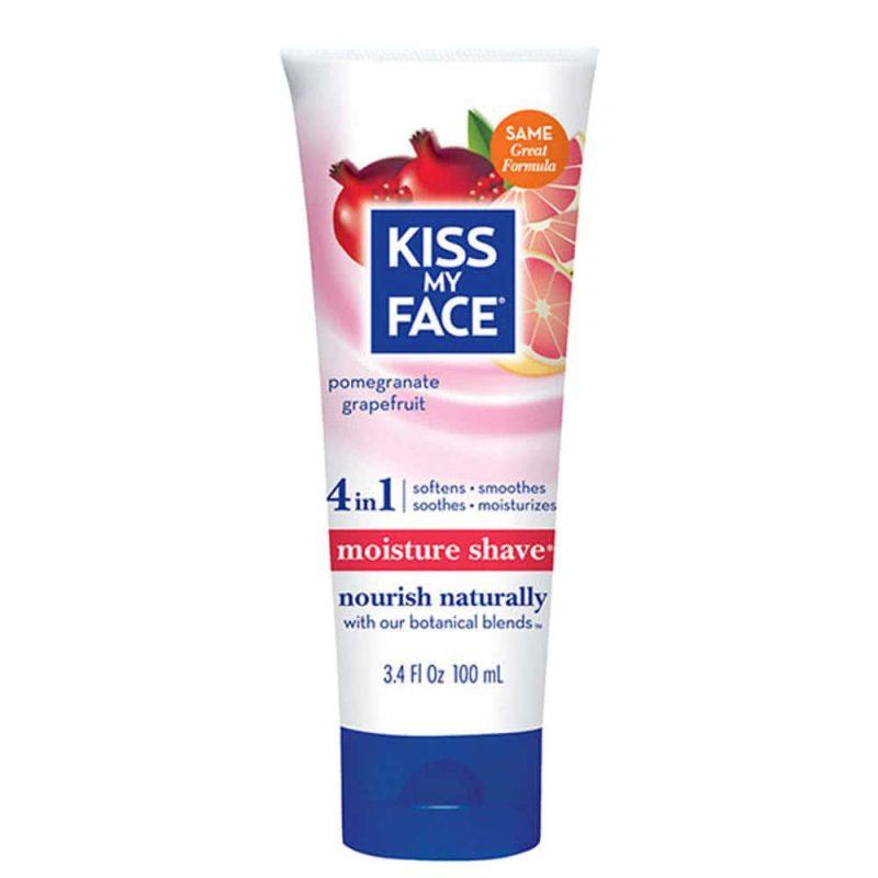 Crème de rasage corps vegan & naturelle Grenade Pamplemousse - Kiss My Face