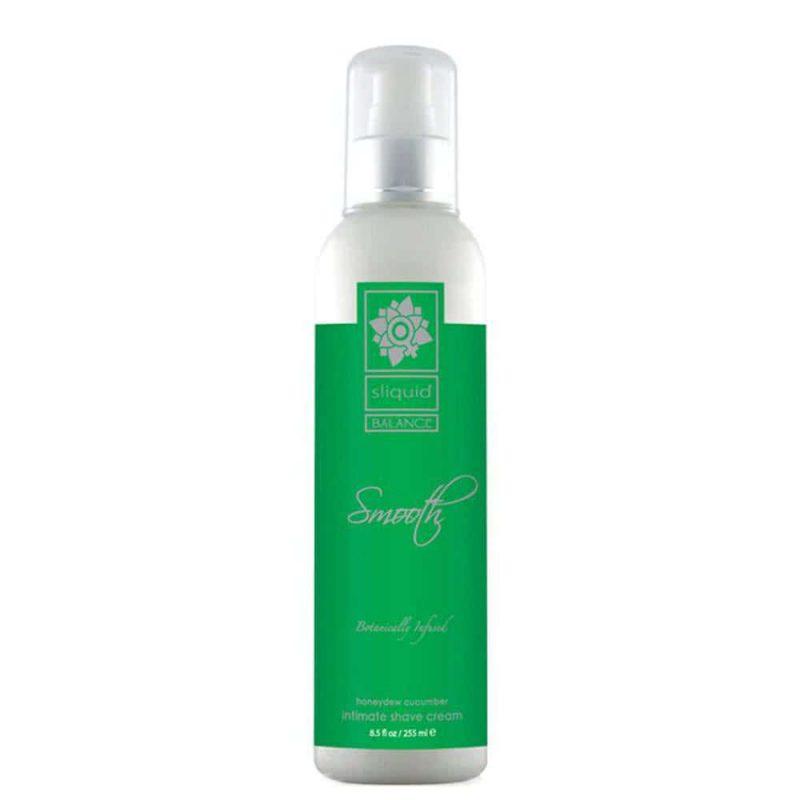 Crème rasage intime vegan & naturelle Melon Concombre - SLiquid