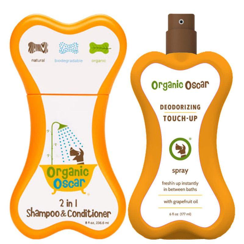 Coffret cadeau vegan & bio pour chien - Organic Oscar