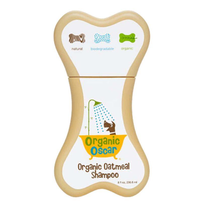 Shampoing vegan & bio extra doux pour chien à l'avoine - Organic Oscar