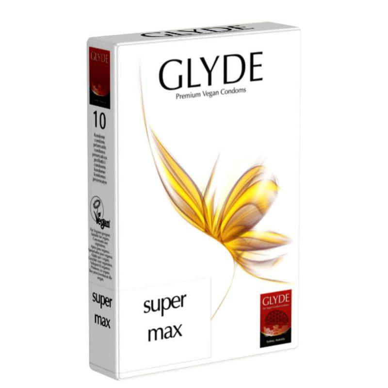 Préservatifs vegan Super Max - Glyde