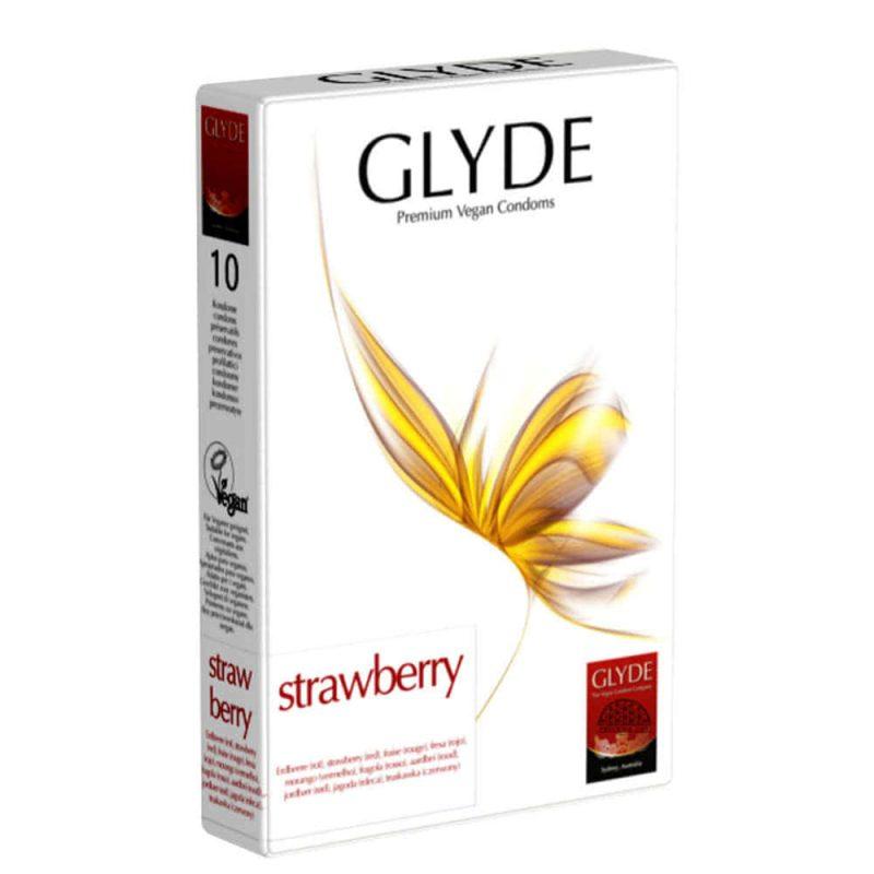 Préservatifs vegan Ultra parfum fraise - Glyde