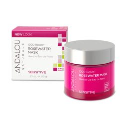 Masque revitalisant vegan & bio à l'eau de rose 50ml