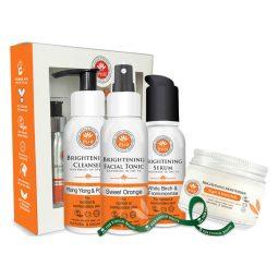 Coffret soins visage peau mixte vegan & bio