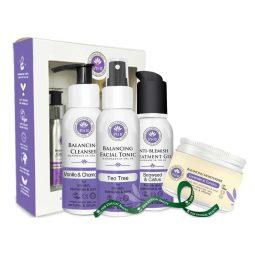 Coffret soins visage vegan pour peau grasse - PHB Ethical Beauty
