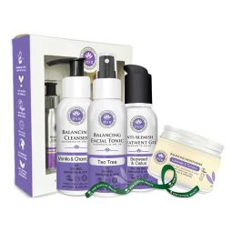 Coffret soins visage peau grasse vegan & bio