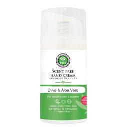 Crème pour les mains vegan & bio sans parfum 50ml