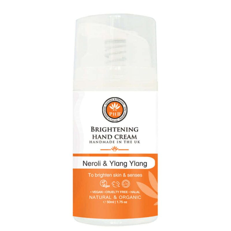 Crème pour les mains vegan & bio senteur Neroli Ylang ylang - PHB Ethical Beauty