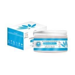 Gommage hydratant vegan & bio à la vanille et au lin 100gr