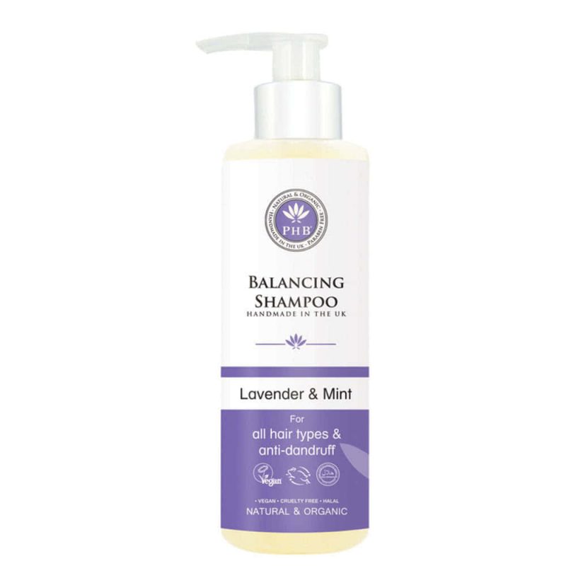 Shampoing équilibrant vegan & bio - PHB Ethical Beauty