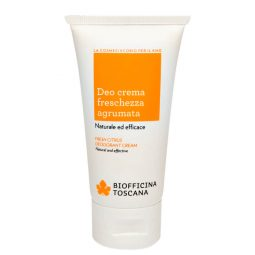 Déodorant crème vegan & bio senteur Fraîcheur d'agrumes 50ml