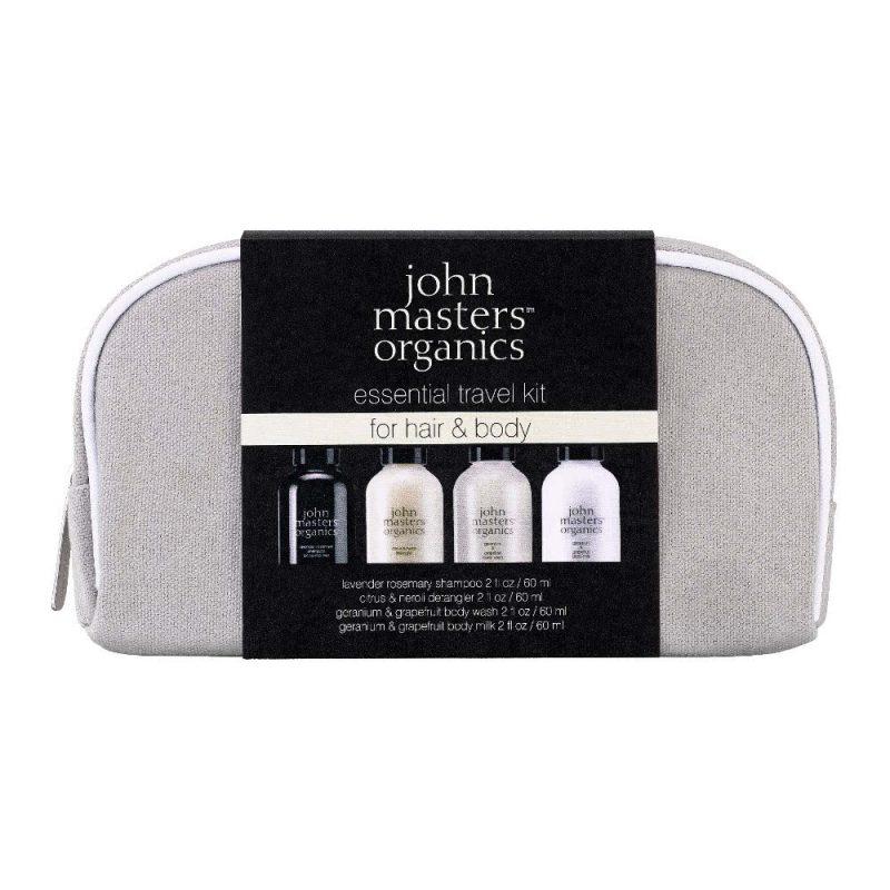 Trousse de voyage soins corps et cheveux vegan & bio - John Masters Organics