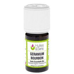 Huile essentielle bio de géranium bourbon 5ml