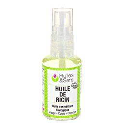 Pure huile de ricin bio