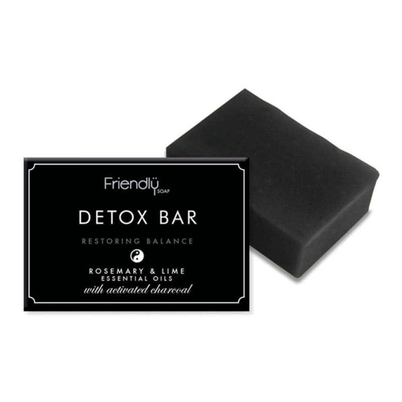Savon détox vegan au charbon actif - Friendly Soap