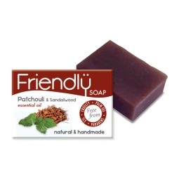 Savon SAF vegan au patchouli et bois de santal - Friendly Soap