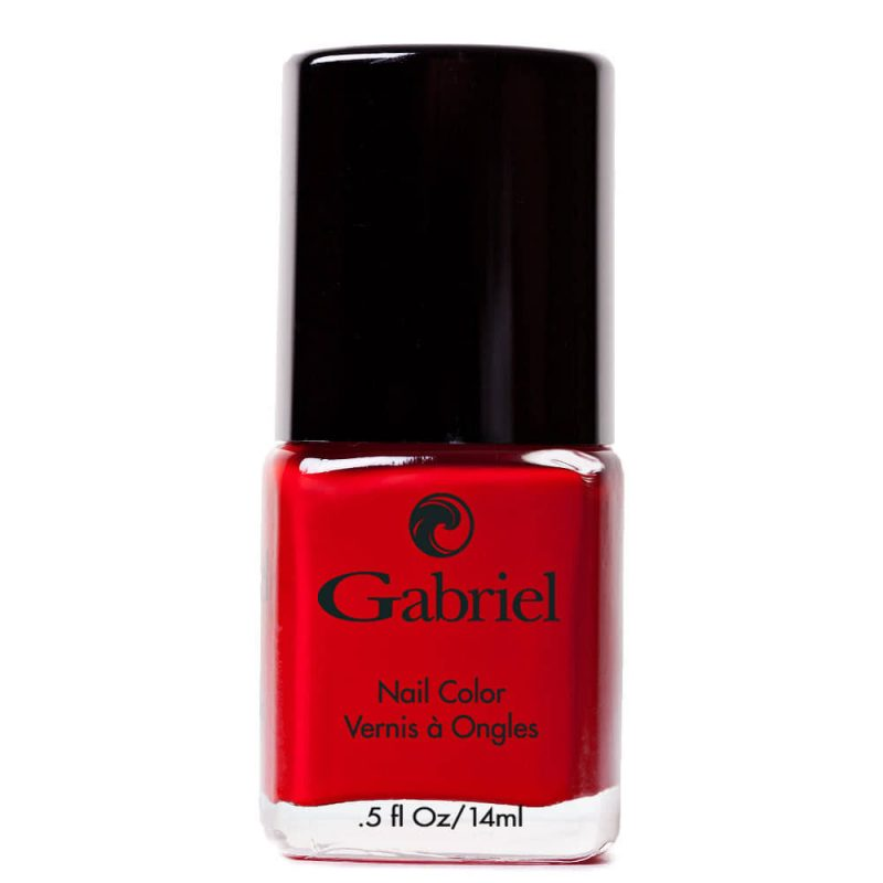 Vernis à ongles vegan & 5free couleur Classic Red - Gabriel Cosmetics
