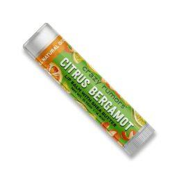 Baume à lèvres vegan & bio parfum Citrus Bergamot - Crazy Rumors