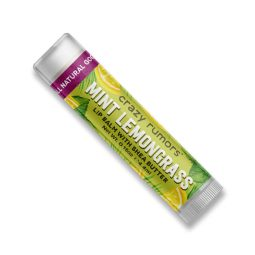 Baume à lèvres vegan parfum Mint & Lemongrass - Crazy Rumors